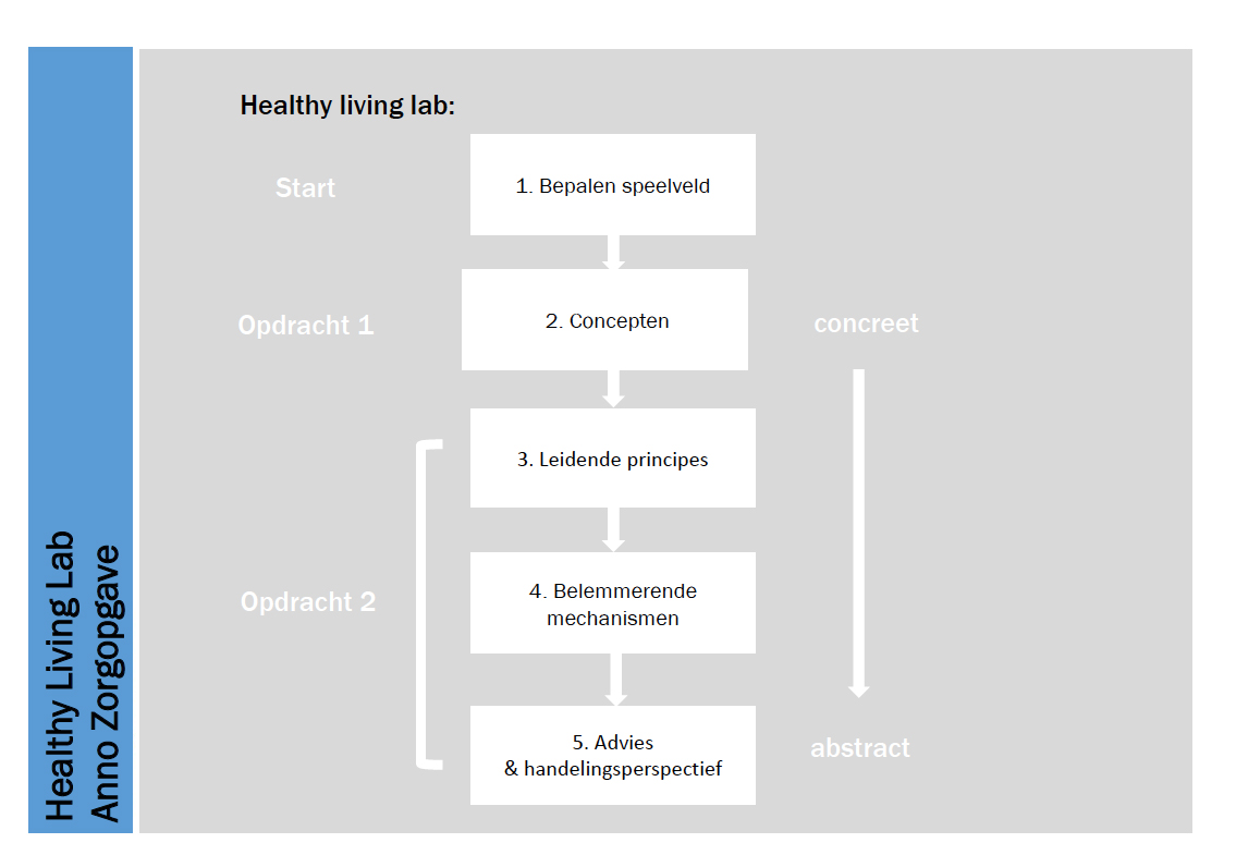 Werkstappen Healthy Living Lab
